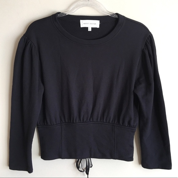 Anthropologie Tops - ANTHROPOLOGIE Guest Editor Sweatshirt Knit Top